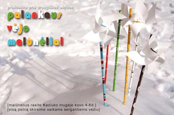"""2011 m. """"Palankaus vėjo malūnėlių"""" plakatas"""